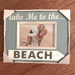Take me to the beach pic frame! NWT